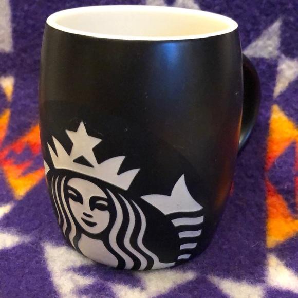 Starbucks 2011 black coffee mug